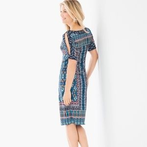 Cold Shoulder Sheath Dress by Chico's